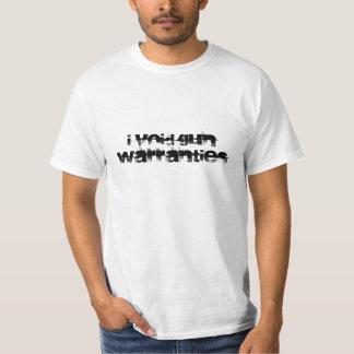 Anulo las garantías del arma - camisa