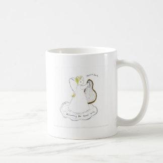 Anunciación del nacimiento del salvador taza de café