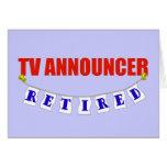Anunciador de TV jubilado Tarjeton