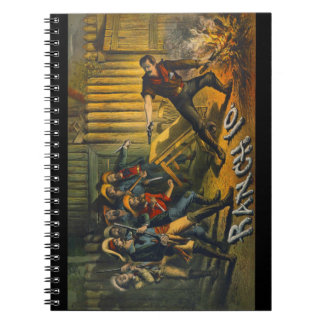 Anuncio 1882 de la producción de la etapa notebook