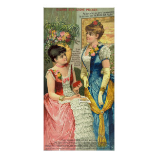 Anuncio 1887 del polaco de la estufa del vintage impresiones