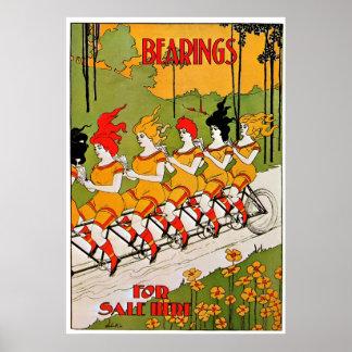 Anuncio 1896 de la bicicleta del vintage del ~ de  impresiones