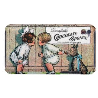 Anuncio 1905 del caramelo de chocolate Case-Mate iPod touch fundas