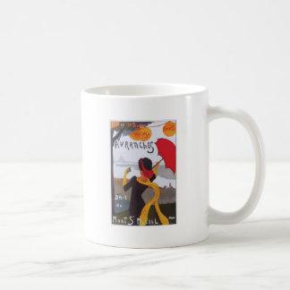 Anuncio 1910 del viaje del francés del vintage taza