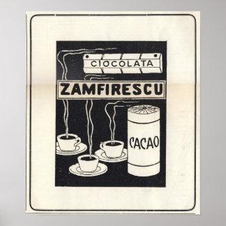 Anuncio 1913 de Vintige para el rumano para el coc Impresiones