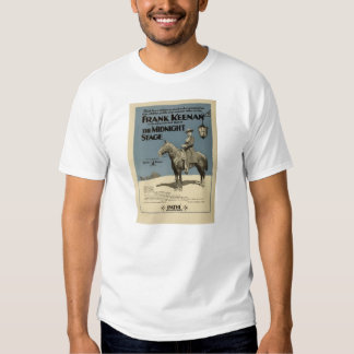 Anuncio 1919 del expositor de la película muda de camisas