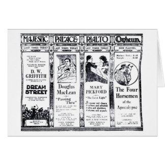 Anuncio 1921 del vintage de Mary Pickford Valentin Tarjeta De Felicitación