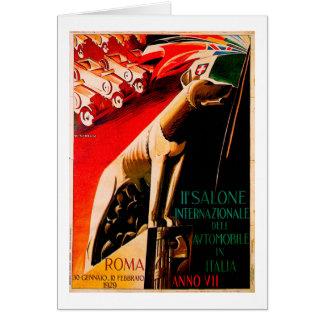 Anuncio 1929 del automóvil del vintage del ~ del tarjeta pequeña