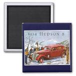 Anuncio 1934 del vintage del Hudson 8 Imán