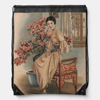 Anuncio asiático de la joyería mochilas