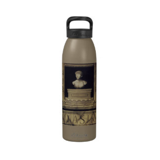 Anuncio Astra del monograma - a las estrellas Botella De Agua Reutilizable