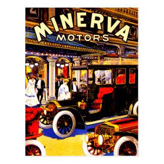 Anuncio belga del automóvil del vintage del ~ de tarjetas postales