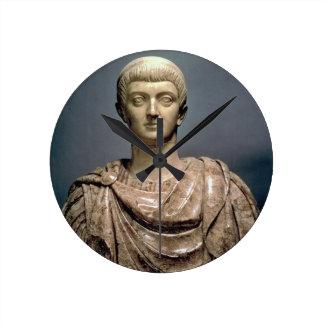 ANUNCIO c 350 de Constantina I c 274-337 mármol Reloj De Pared