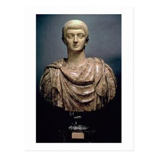 ANUNCIO c.350 de Constantina I (c.274-337) Tarjeta Postal