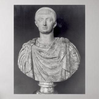 ANUNCIO c.350 de Constantina I Póster