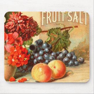 Anuncio colorido de la sal de la fruta tapete de ratón