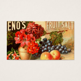 Anuncio colorido de la sal de la fruta tarjetas de visita
