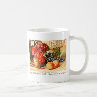 Anuncio colorido de la sal de la fruta taza de café