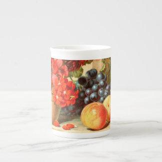 Anuncio colorido de la sal de la fruta taza de té
