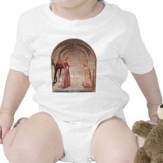 Anuncio con St Dominic por Fra Angelico Camiseta