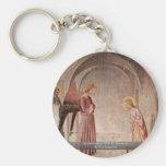 Anuncio con St Dominic por Fra Angelico Llaveros