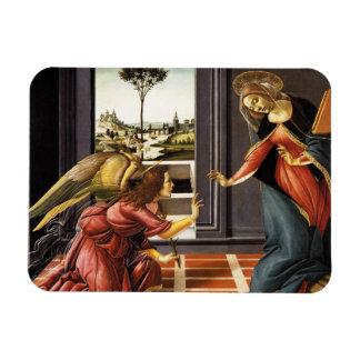 Anuncio de Botticelli Imán De Vinilo