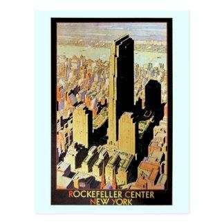 Anuncio de centro de Rockefeller New York City del Postal