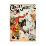 Anuncio de circo postal