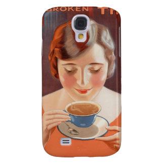 Anuncio de consumición de la pintura del té de la
