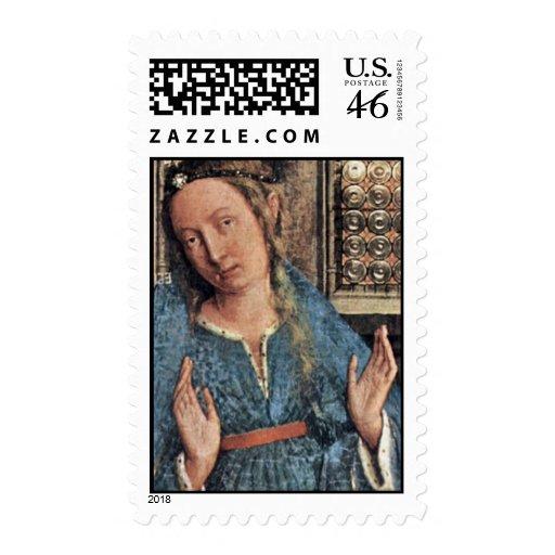 Anuncio de Eyck enero Van (la mejor calidad) Sellos