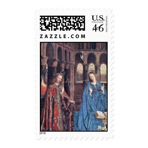 Anuncio de Eyck enero Van (la mejor calidad) Sello