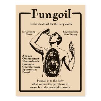 Anuncio de Fungoil - postal