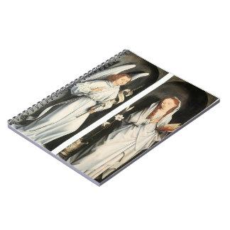 Anuncio de Hans Memling- Cuaderno