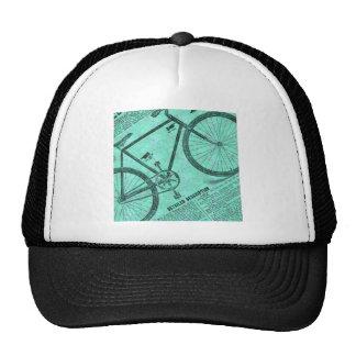 Anuncio de la bici gorras