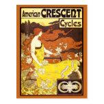 Anuncio de la bicicleta de Nouveau del arte del Tarjetas Postales