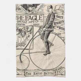 Anuncio de la bicicleta del Victorian de Pennyfart Toalla