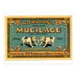 Anuncio de la cinta del dogo del vintage postal