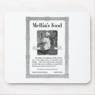 Anuncio de la comida de Mellin Alfombrilla De Ratón