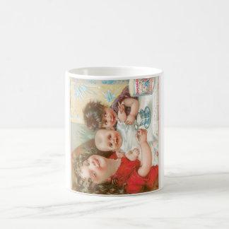 Anuncio de la comida del vintage de la leche conde taza