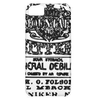 "Anuncio de la medicina de la ""angostura"" del vinta funda para iPhone 5C"