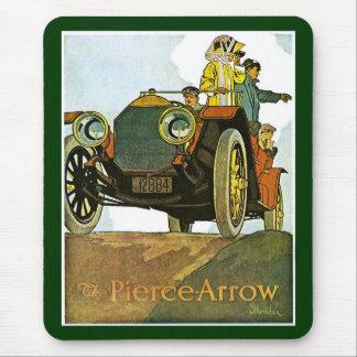 Anuncio de la Pierce-Flecha del vintage Tapetes De Raton