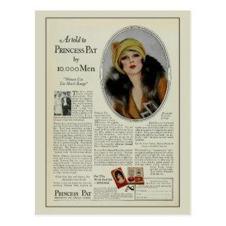 Anuncio de la revista de los cosméticos de los postales