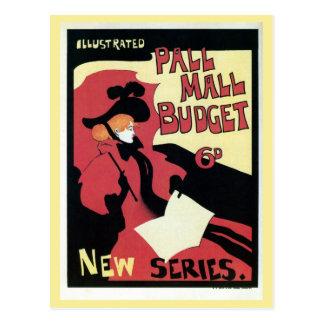 Anuncio de la revista del presupuesto del mallo postal