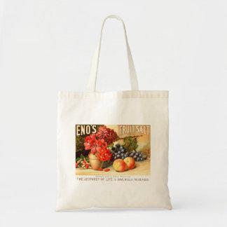 Anuncio de la sal de la fruta bolsas de mano