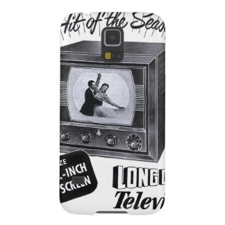 ANUNCIO de la televisión B&W TV del kitsch del Carcasa Galaxy S5