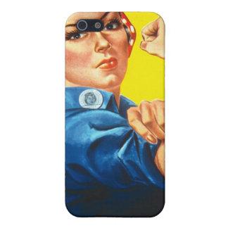 Anuncio de las derechas de la vintage mujer iPhone 5 funda