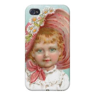 Anuncio de los jabones y de los perfumes del vinta iPhone 4/4S carcasas