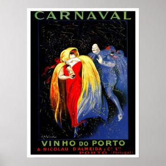 Anuncio de Oporto del carnaval de Leonetto Cappiel Impresiones