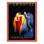 Anuncio de Oporto del carnaval de Leonetto Postales