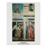 Anuncio de Piero della Francesca Póster